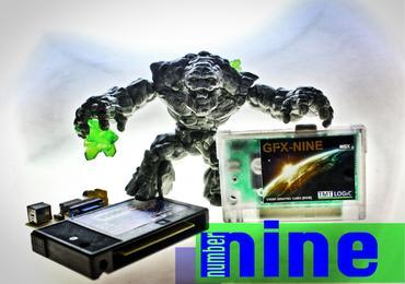 Announcing the TMTLogic GFX-nine, an MSX v9990 compliant extension