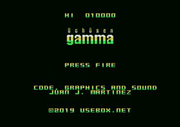 Uchūsen Gamma, a new game in development by usebox.net