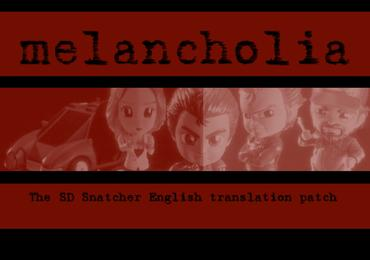 Project Melancholia SD Snatcher English patch now available for free download!