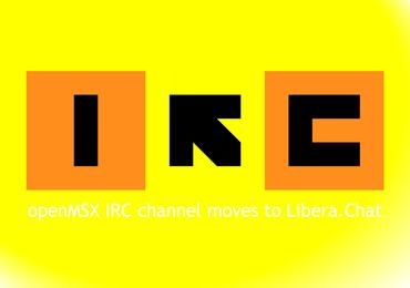 openMSX IRC channel moves to Libera.Chat