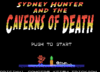 Anunciado Sydney Hunter and the Caverns of Death