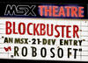 MSXdev21 #14 - Blockbuster