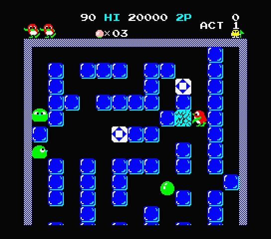Pengo Available For Free Msx Resource Center