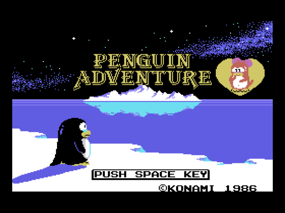 Penguin Adventure ported to ColecoVision | MSX Resource Center