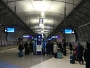 Trainstation at Helsinki Airport
