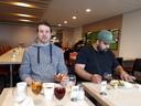 Breakfast. Arno & Rami