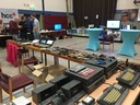Another overview of hardware at Bas' booth at Nijmegen 2018 - 011