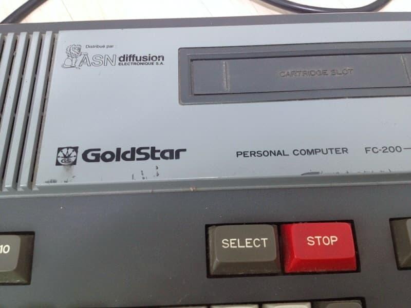 Goldstar FC-200 - MSX Wiki