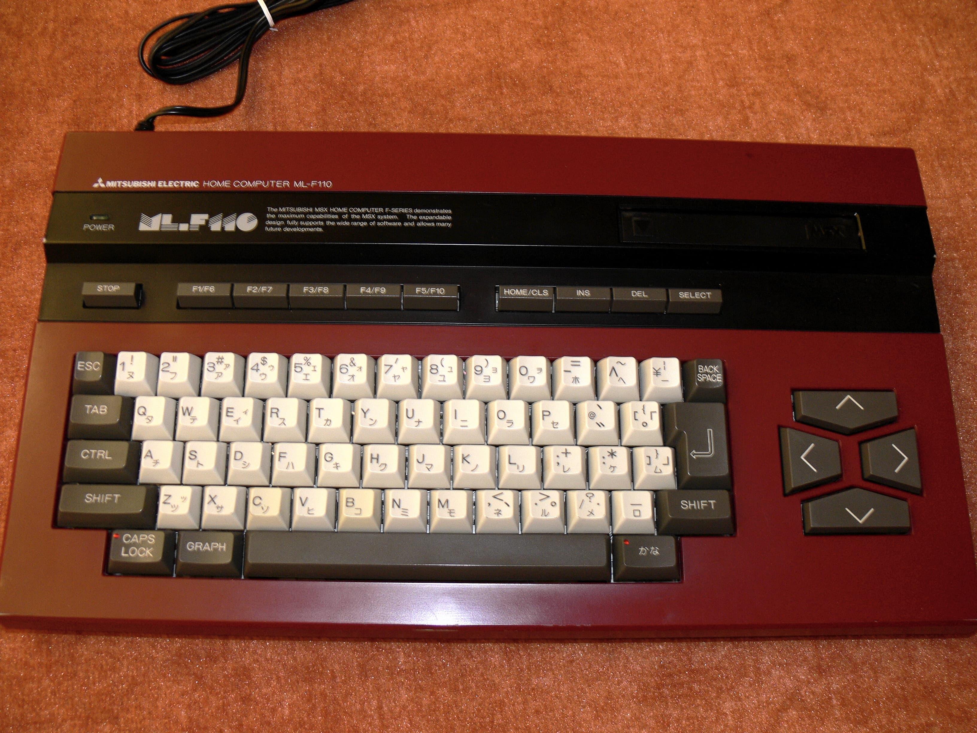Mitsubishi ML-F110 - MSX Wiki