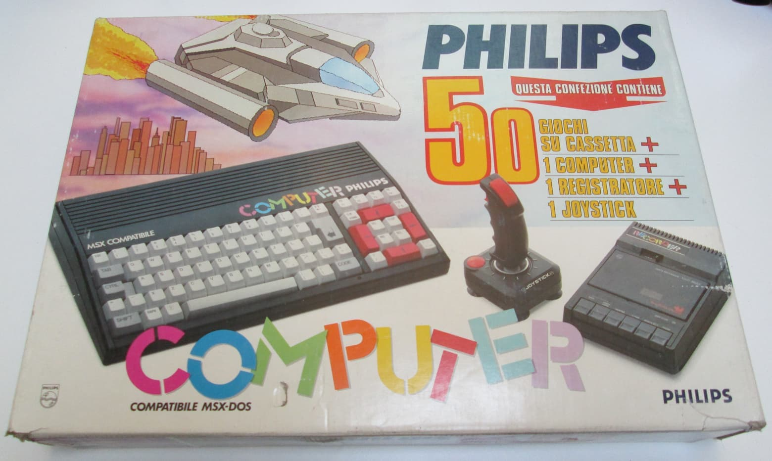Philips NMS 800 box